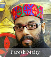 Paresh Maity - Indian Painter from Medinipur