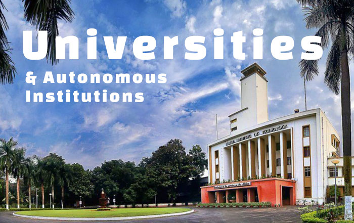 Universities and Autonomous Institutions of Medinipur