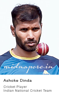 Ashoke Bhimchandra Dinda, Indian cricket player