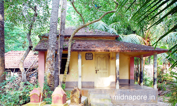 Birth place of Matangini Hazra at Hogla village, Purba Medinipur. A small house has been built in her memory.