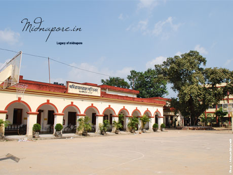 Midnapore Collegiate School(for boys) established in 1834